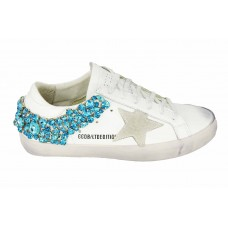 Кеды Golden Goose Deluxe Brand Star Blue Light