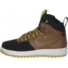 Мужские кроссовки Nike Air Force 1 Lunar Duckboot коричневые