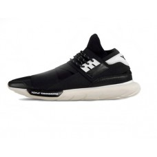 Мужские кроссовки Adidas Yohji Yamamoto Qasa Racer Black/White High