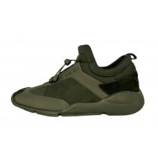 Мужские комбинированные кроссовки Adidas Yohji Yamamoto хаки с элементами милитари