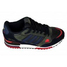 Мужские кроссовки ADIDAS ZX750 Black/Blue/Red