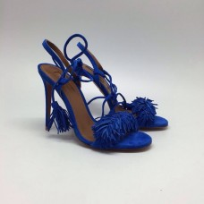 Босоножки Aquazzura Firenze Blue