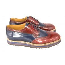 Ботинки Prada Oxford Broun/Blue