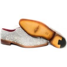Туфли Santoni White (Ящерица)