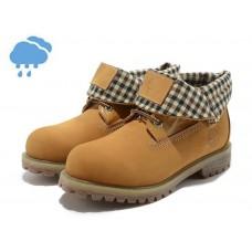 Осенние ботинки Timberland Roll-Top Yellow