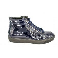 Мужские высокие осенние брендовые ботинки Philipp Plein Anniston