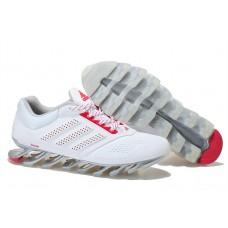 Кроссовки беговые белые Adidas SpringBladeWhite/Red