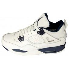 Мужские баскетбольные кроссовки Nike air jordan 4 NEW Белые