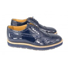 Ботинки Prada Oxford Blue