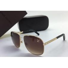 Женские солнцезащитные очки Louis Vuitton Gold Glasses