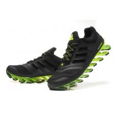 Мужские беговые кроссовки Adidas SpringBlade 2015 Black/Green II