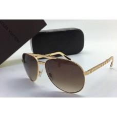 Женские солнцезащитные очки Louis Vuitton Gold