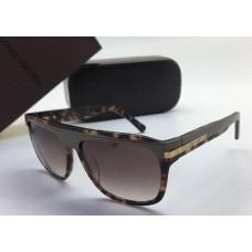 Женские солнцезащитные очки Louis Vuitton коричневые