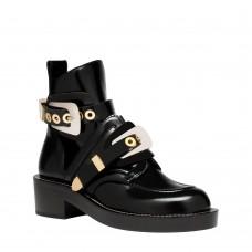 Женские ботинки Balenciaga Leather со скидкой