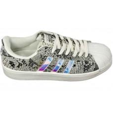 Кроссовки Adidas Superstar Grey/Silver