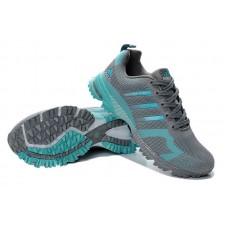 Мужские беговые кроссовки Adidas Marathon Flyknit Grey/Green