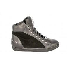 Мужские высокие брендовые осенние кроссовки Philipp Plein Anniston