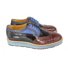 Ботинки Prada Oxford Broun/Black/Blue