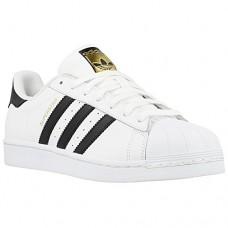 Кроссовки Adidas Superstar White/Black Gold