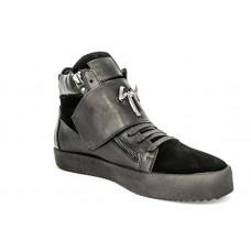 Осенние ботинки Giuzeppe Zanotti Black High