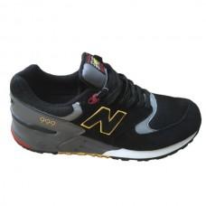 Мужские черные кроссовки New Balance 999 Black Grey