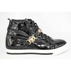 Осенние ботинки Versace Black Gold