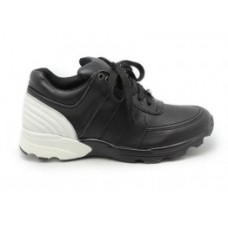 Женские брендовые кожаные кроссовки Chanel EX Sport Black/White