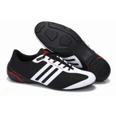 Мужские черные кроссовки Adidas Porsche Design Formotion (black/red/white) со скидкой