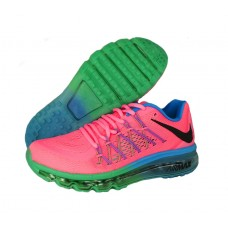 Кроссовки Nike Air Max 2015 Pink/Blue/Green