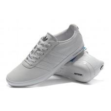 Мужские кроссовки Adidas Porshe Design Classic белые со скидкой