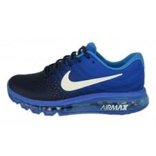 Мужские беговые кроссовки Nike Air Max 2017 синие