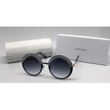 Женские солнцезащитные очки Jimmy Choo со стразами темные