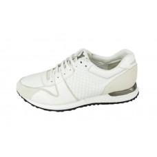 Мужские брендовые белые кроссовки Louis Vuitton Run Away Sneakers White
