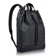Мужской брендовый кожаный рюкзак Louis Vuitton Noe Marin Blue