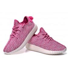Женские летние розовые кроссовки Adidas Yeezy Boost 350 Pink