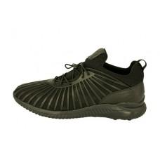 Мужские кожаные кроссовки Adidas Yohji Yamamoto bounce черные
