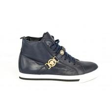 Осенние ботинки Versace Blue