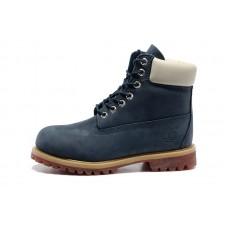 Зимние ботинки Timberland Classic Blue с мехом