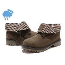 Осенние ботинки Timberland Roll-Top Dark Brown