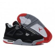 Женские баскетбольные кроссовки Nike Air Jordan 4 Retro Black/Grey/Red