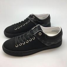 Мужские брендовые кеды Louis Vuitton Sneakers Black