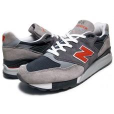 Мужские кроссовки New Balance 998 Grey Red