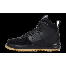 Мужские кроссовки Nike Air Force 1 Lunar Duckboot черные