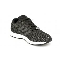 Черные летние кроссовки Adidas ZX Flux Black