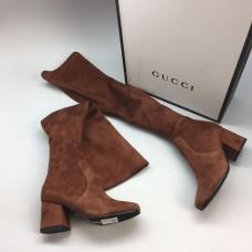 Ботфорты Gucci Broun