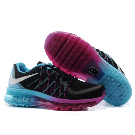 Кроссовки Nike Air Max 2015 Black/Purple/Blue