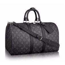 Брендовая сумка для путешествий Louis Vuitton Keepall Blue