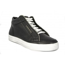 Зимние ботинки Millioner Black Leather High