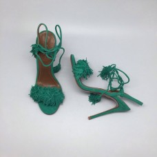 Босоножки Aquazzura Firenze Green