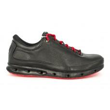 Осенние ботинки Ecco Biom Low Black/Red